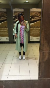 Airport attire
