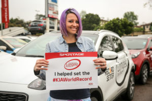 Kia world record
