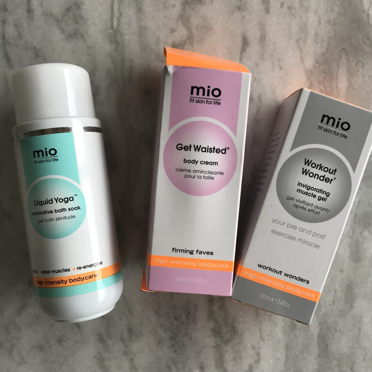 Mio Skincare Products