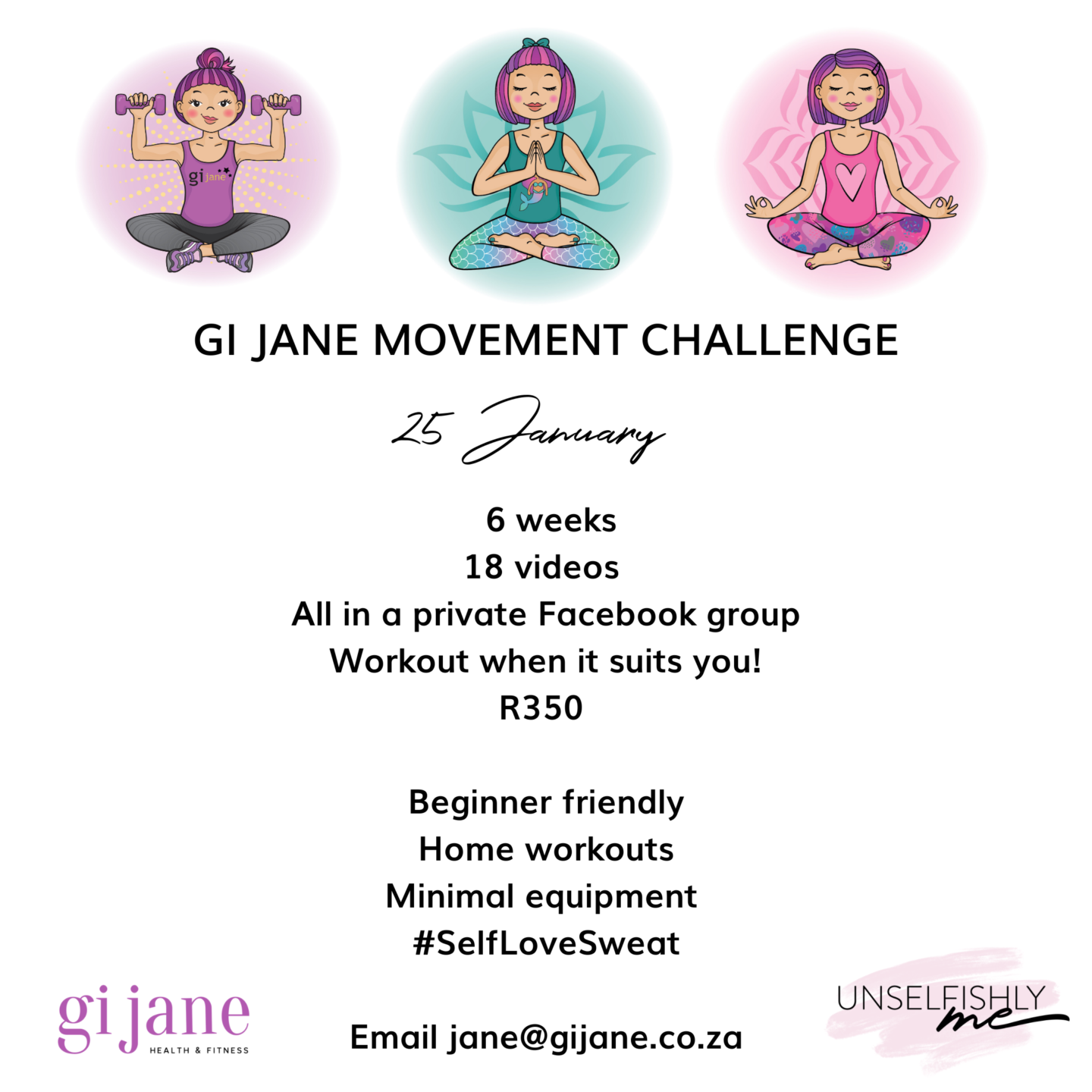 Join my January Challenge
