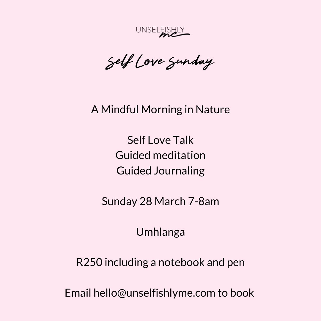 A Mindful Morning with me!